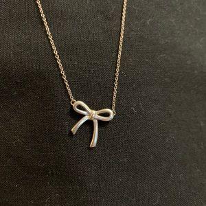 Tiffany & Co Bow Necklace